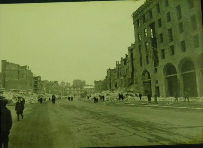 Крещатик в 1943 году