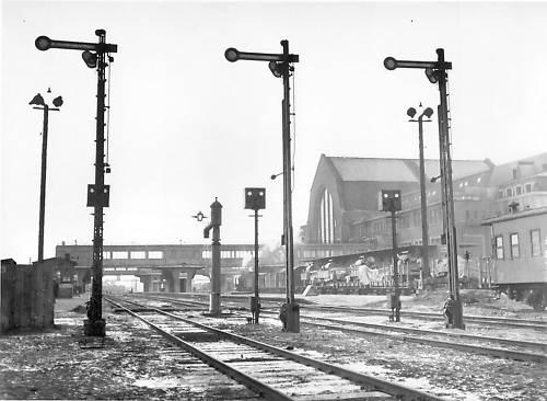 На путях киевского вокзала в 1943 году