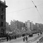 Разрушения на Крещатике, 1944 год
