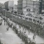 Строй немецких военнопленных в августе 44-го - Крещатик, Киев