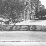 Крещатик и Лютеранская улицы, внешний вид в 1945 году