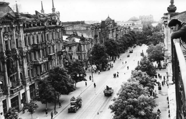 Послевоенный Киев, Владимирская улица