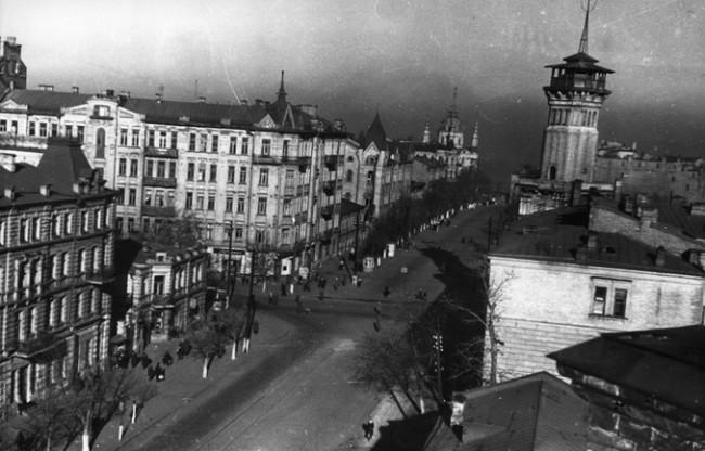 Пожарная часть на Владимирской улице, 1946 год