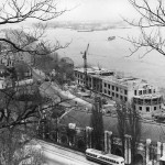 1950-е годы. Строительство Речного вокзала