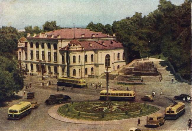 Европейская площадь в 50-е годы 20 века
