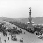 Киев, Мост Патона. Открытие.