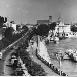 У Днепра, Набережное шоссе, 50-е годы, Киев