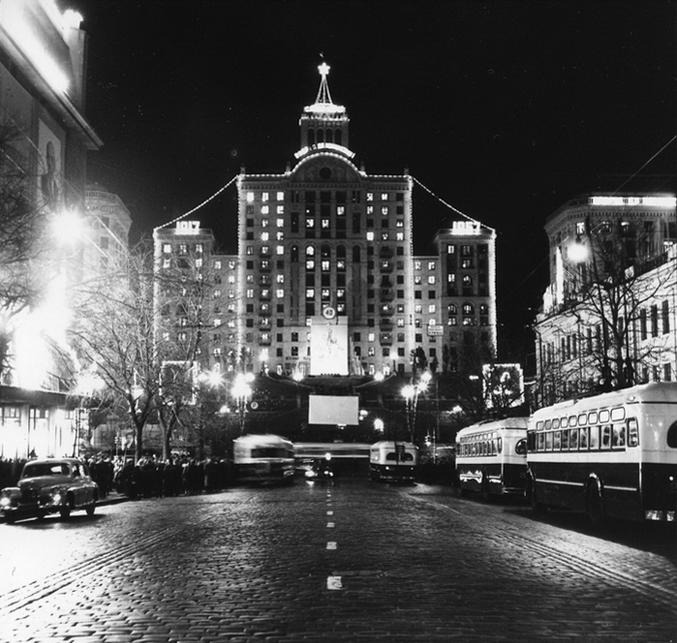 Кинотеатр Дружба, Крещатик 1957 год
