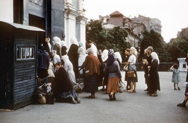 Андреевская церковь в 1958 году, Киев