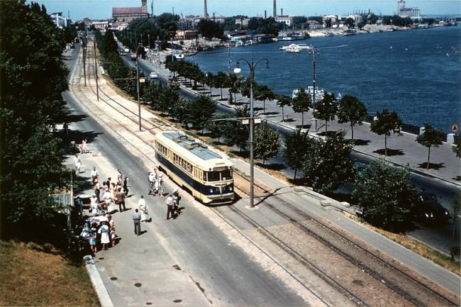 Набережное шоссе в 1959 году