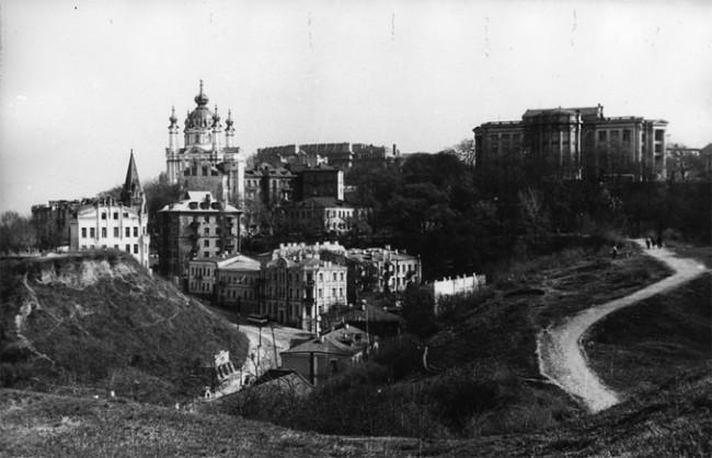 Андреевская церковь в 1960-х годах