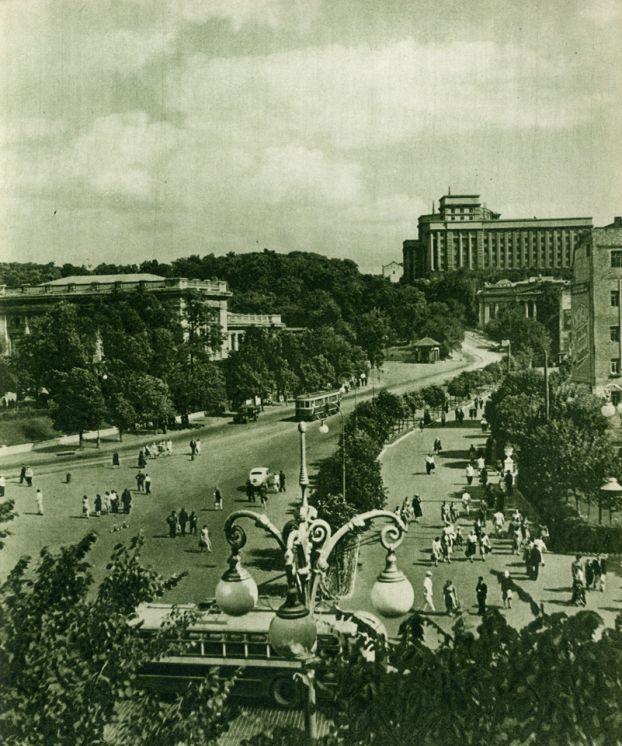 1960-е годы, площадь Ленинского Комсомола