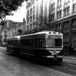 1960-e годы. Трамвай на улице Коминтерна
