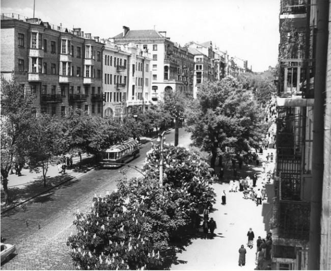 Красноармейская улица в 1961 году