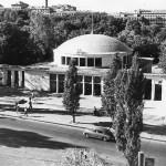 Метро в Киеве, 1961 год, наземная часть станции Университет