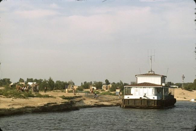 Труханов остров в 1964 году