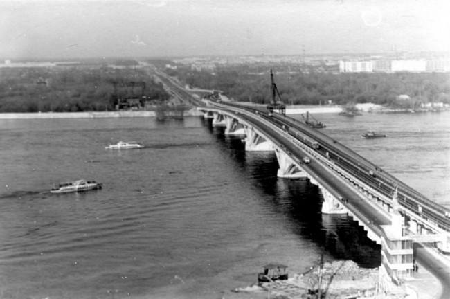 Мост метро в 1966 году