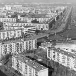Панорама Ленинградской площадь в 1966 году