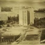 Студгородок в Киеве в начале 70-х, улица Ломоносова
