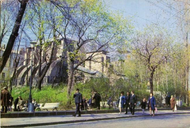 Золотые Ворота в 70-х в Киеве