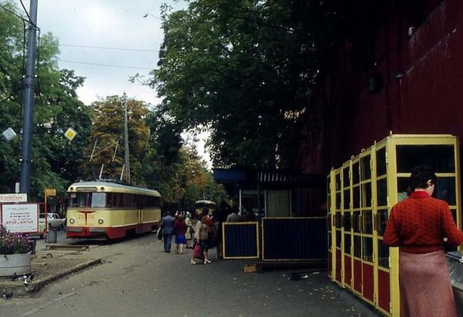 На перекрестке Владимирской и Толстого, 1978 год