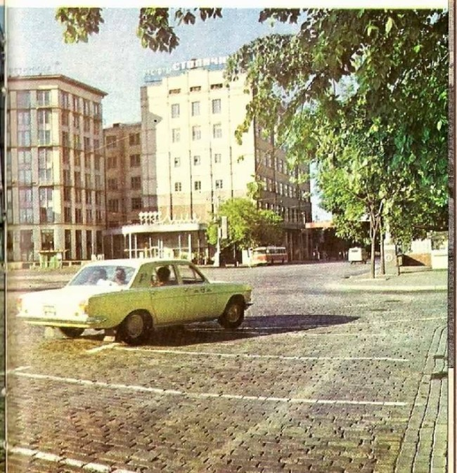 1978 год. Европейская (Ленинского Комсомола) площадь