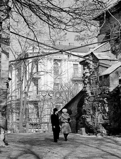 Золотые ворота в Киеве в 1980 году