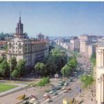 Почтамт и Крещатик в 80-х годах