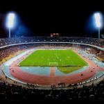 Олимпийский (Республиканский) стадион в 80-х годах 20 века