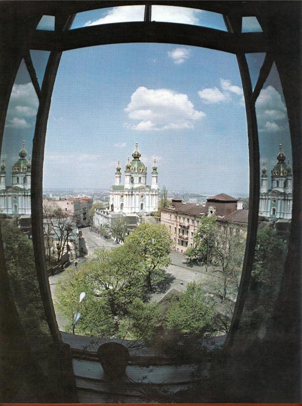 Андреевская церковь в 80-х, Киев