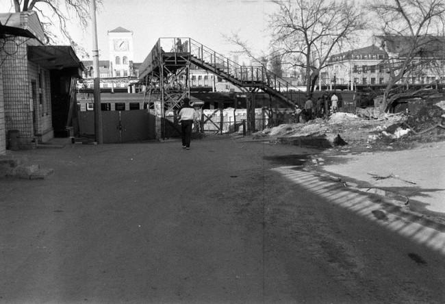 Киевский вокзал в 80-х годах