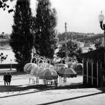 1980-е годы. Набережная Днепра, летнее кафе