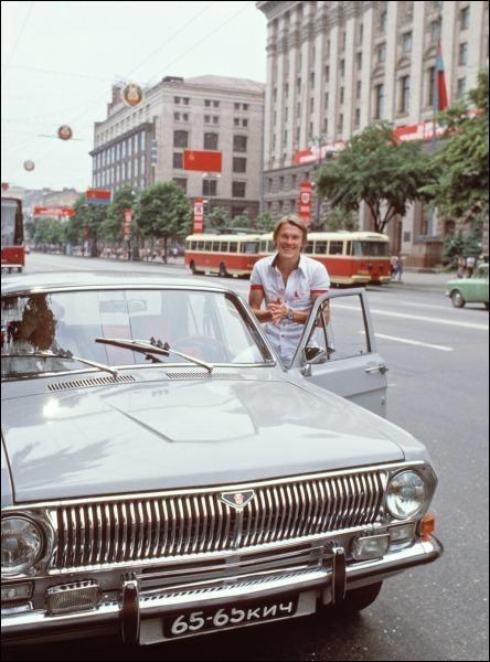 Олег Блохин на Крещатике