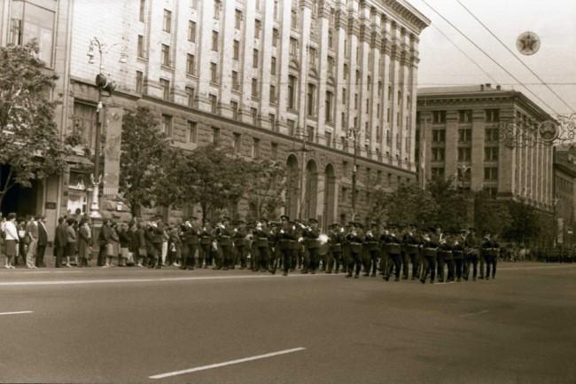 Парад на Крещатике в 1987 году