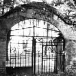 1987 год. Вход на Щекавицкое кладбище