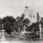 1987 год. Церковь на Щекавицком кладбище