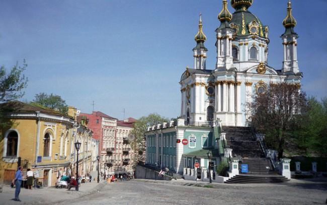 Май 1990 года - Андреевская церковь