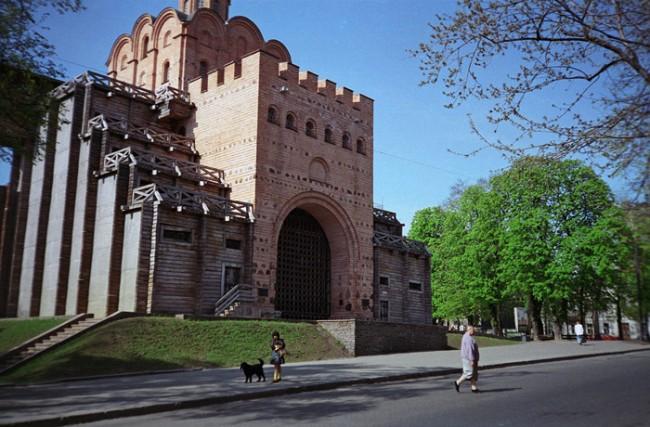 Золотые Ворота в мае 1990 года