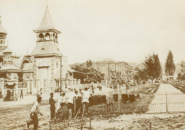 Железная церковь Иоанна Златоуста в начале 20 века