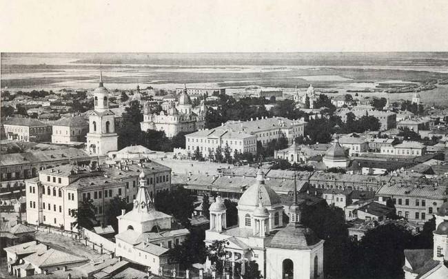 Подол и Контрактовая площадь в начале 20 века