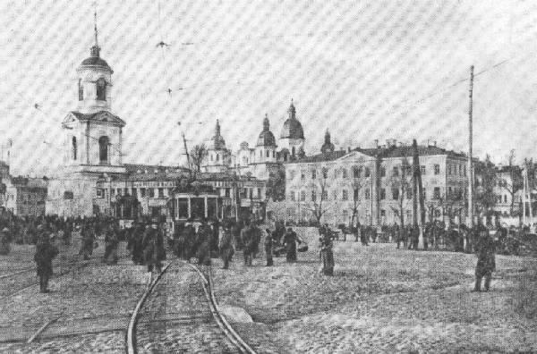 Снесенный большевиками Братский монастырь, фото начала 20 века