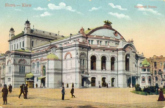 Оперный театр в начале 20 века