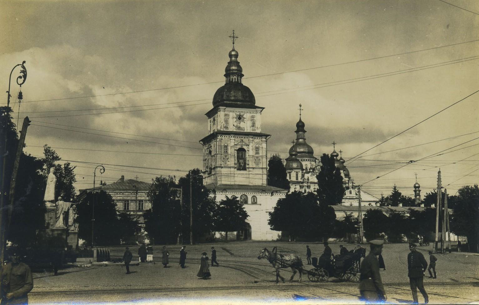 Михайловская площадь в начале 20 века