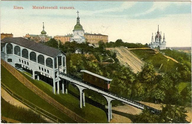 Киевский фуникулер в 1905 году
