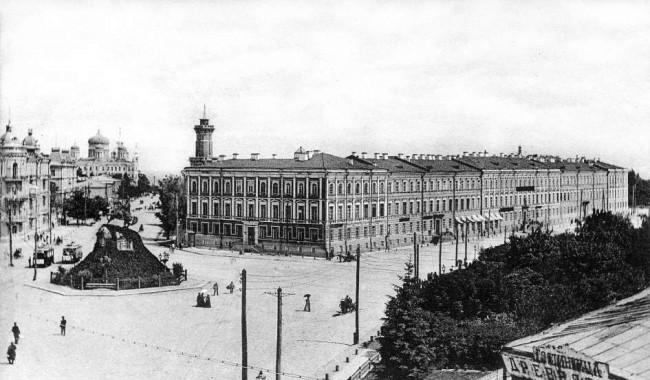 Софийская площадь в 1906 году