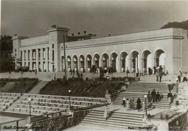 Стадион Динамо в 1930 году