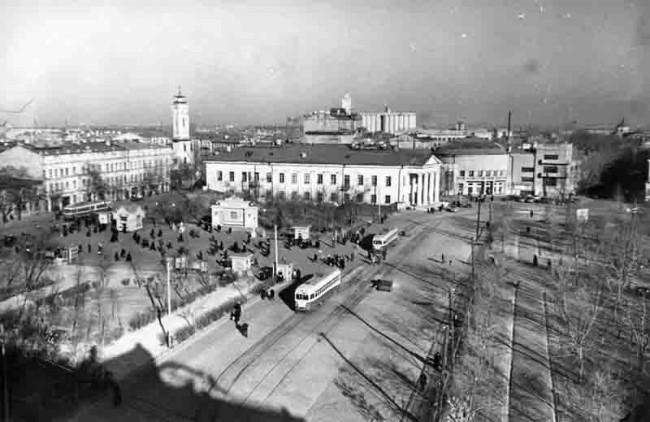 Контрактовая площадь в 1950 году
