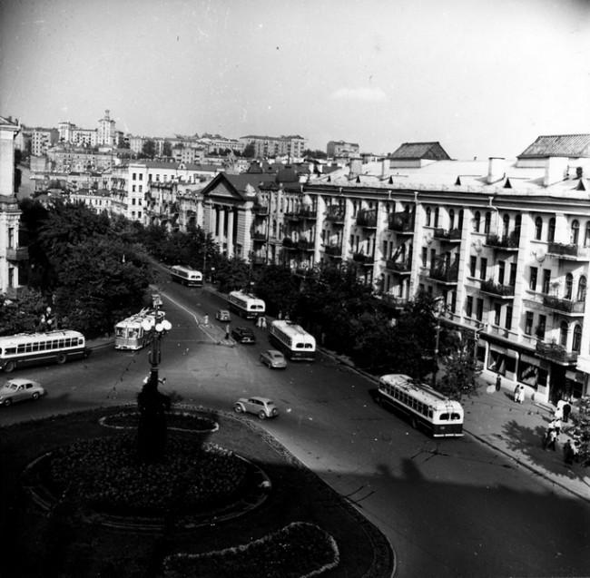 Кинотеатр Киев в 1950-х годах