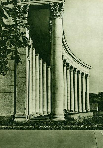 Вход на Республиканский стадион в 1954 году
