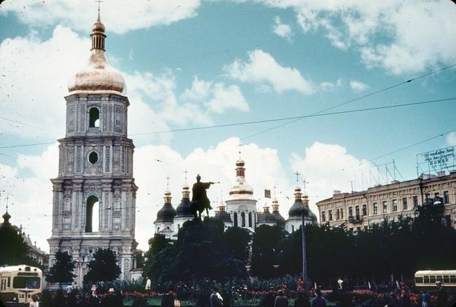 Софийская церковь в 1960 году